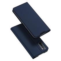 Oppo Reno 3 hoesje - Dux Ducis Skin Pro Book Case - Donker Blauw