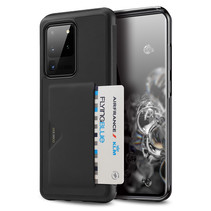 Dux Ducis - Samsung Galaxy S20 Ultra hoesje - Pocard Series - Back Cover - Zwart