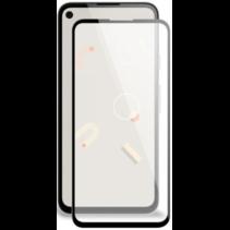 Google Pixel 4a Screenprotector - Full Cover Screenprotector - Case-Friendly - Zwart