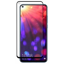 Motorola Moto G8 Power Screenprotector - Full Cover Screenprotector - Case-Friendly - Zwart