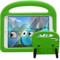iPad 9.7 (2017/2018) hoes - Schokbestendige case met handvat - Sparrow Kids Cover - Groen