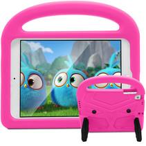 iPad Air 10.5 (2019) hoes - Schokbestendige case met handvat - Sparrow Kids Cover - Magenta