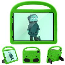 iPad Pro 11 (2018/2020) hoes - Schokbestendige case met handvat - Sparrow Kids Cover - Groen