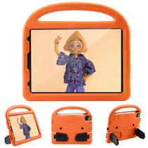 iPad Pro 11 (2018/2020) hoes - Schokbestendige case met handvat - Sparrow Kids Cover - Oranje