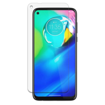 Motorola Moto G8 power lite Screenprotector - Tempered Glass Screenprotector - Case-Friendly