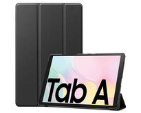 Case2go - Hoes voor de Samsung Galaxy Tab A7 (2020) - Tri-Fold Book Case - Zwart
