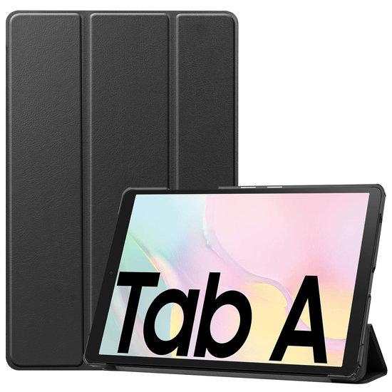 Case2go Samsung Galaxy Tab A7 (2020) hoes - Tri-Fold Book Case - Zwart