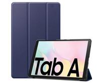 Samsung Galaxy Tab A7 (2020) hoes - Tri-Fold Book Case - Donker Blauw