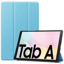 Samsung Galaxy Tab A7 (2020) hoes - Tri-Fold Book Case - Licht Blauw