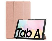 Samsung Galaxy Tab A7 (2020) hoes - Tri-Fold Book Case - Rosé Goud