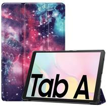 Samsung Galaxy Tab A7 (2020) hoes - Tri-Fold Book Case - Galaxy