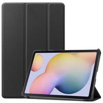 Samsung Galaxy Tab S7 (2020) hoes - Tri-Fold Book Case - Zwart