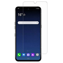 LG V60 ThinQ 5G Screenprotector - Tempered Glass Screenprotector - Case-Friendly
