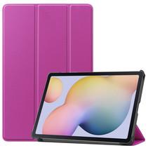 Samsung Galaxy Tab S7 (2020) hoes - Tri-Fold Book Case - Paars