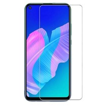 Huawei P40 Lite E Screenprotector - Tempered Glass Screenprotector - Case-Friendly