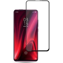 Oppo A12 Screenprotector - Full Cover Screenprotector - Case-Friendly - Zwart