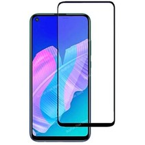 Huawei P40 Lite E Screenprotector - Full Cover Screenprotector - Case-Friendly - Zwart