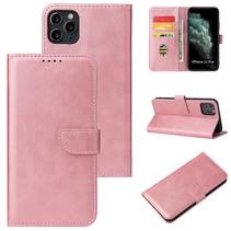 iPhone 11 Pro hoesje - Wallet Book Case - Magnetische sluiting - Ruimte voor 3 (bank)pasjes - Rosé Goud