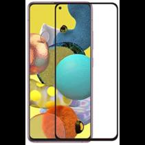 Samsung Galaxy A51 5G Screenprotector - Full Cover Screenprotector - Case-Friendly - Zwart