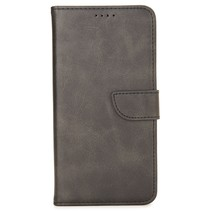 Case2go - Hoesje geschikt voor Samsung Galaxy M21 - Wallet Book Case -  Ruimte voor 3 pasjes - Zwart