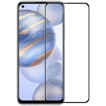 Huawei P40 Lite 5G - Full Cover Screenprotector - Case-Friendly - Zwart