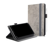 Huawei MatePad T8 hoes - Universele tablet hoes - 8 inch - Wallet Book Case - Grijs