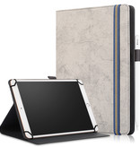 Case2go Huawei MatePad 10.4 hoes - Wallet Book Case - 10.4 inch - Grijs
