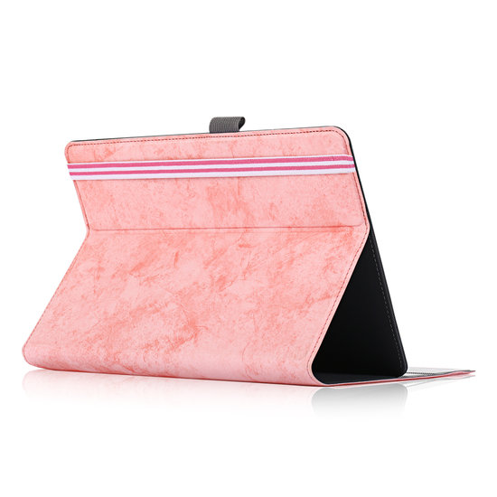 Case2go Huawei MatePad 10.4 hoes - Wallet Book Case - 10.4 inch - Roze