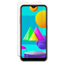 Samsung Galaxy M01 - Tempered Glass Screenprotector - Case-Friendly