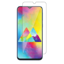 Samsung Galaxy M31 - Tempered Glass Screenprotector - Case-Friendly