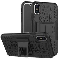 iPhone Xs Max Hoesje - Schokbestendige Back Cover - Zwart