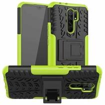 Xiaomi Redmi 9 Hoesje - Schokbestendige Back Cover - Groen