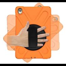Huawei MediaPad M6 10.8 Cover - Hand Strap Armor Case - Oranje