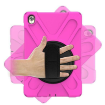 Huawei MediaPad M6 10.8 Cover - Hand Strap Armor Case - Magenta
