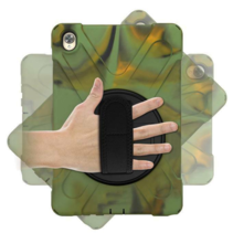 Huawei MediaPad M6 10.8 Cover - Hand Strap Armor Case - Camouflage
