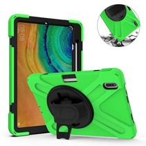 Huawei MatePad Pro 10.8 Cover - Hand Strap Armor Case - Groen