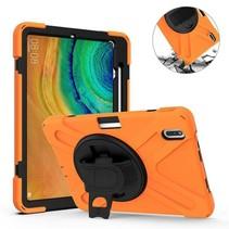 Huawei MatePad Pro 10.8 Cover - Hand Strap Armor Case - Oranje