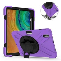 Huawei MatePad Pro 10.8 Cover - Hand Strap Armor Case - Paars