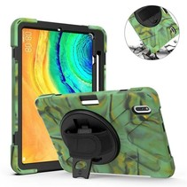 Huawei MatePad Pro 10.8 Cover - Hand Strap Armor Case - Camouflage