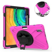 Huawei MatePad Pro 10.8 Cover - Hand Strap Armor Case - Magenta