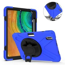 Huawei MatePad Pro 10.8 Cover - Hand Strap Armor Case - Blauw