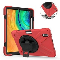 Huawei MatePad Pro 10.8 Cover - Hand Strap Armor Case - Rood