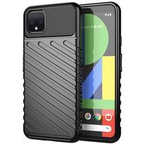 Google Pixel 4 XL hoesje - Schokbestendige TPU back cover - Zwart