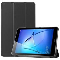 Huawei MatePad T8 hoes - Tri-Fold Book Case - Zwart