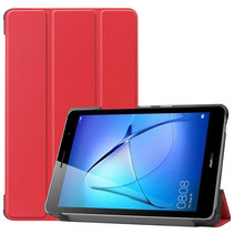 Huawei MatePad T8 hoes - Tri-Fold Book Case - Rood