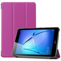 Huawei MatePad T8 hoes - Tri-Fold Book Case - Paars