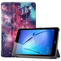 Huawei MatePad T8 hoes - Tri-Fold Book Case - Galaxy