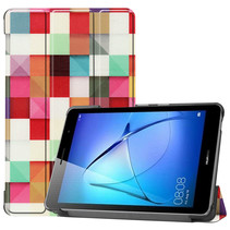Huawei MatePad T8 hoes - Tri-Fold Book Case - Blocks