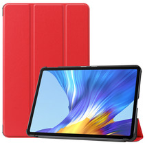 Huawei MatePad 10.4 hoes - Tri-Fold Book Case - Rood