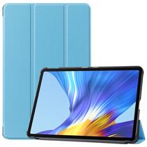 Huawei MatePad 10.4 hoes - Tri-Fold Book Case - Licht Blauw